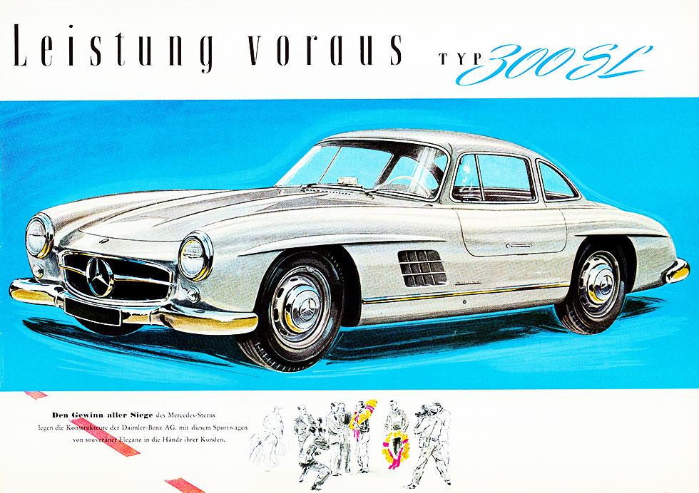 Always a high flier Mercedes-Benz 300SL W198 Gullwing values