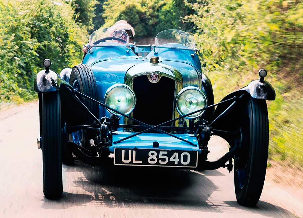 1929 Rally ABC road test