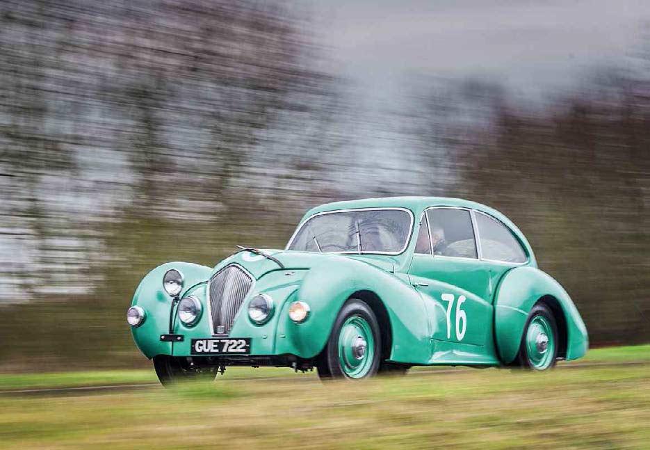 1947 Healey Westland B road drive