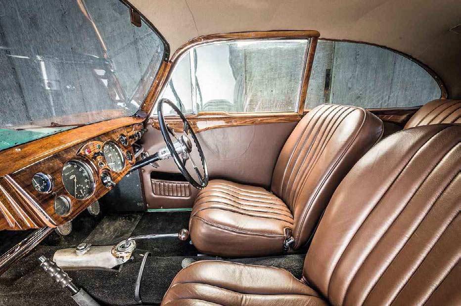 1947 Healey Westland B interior