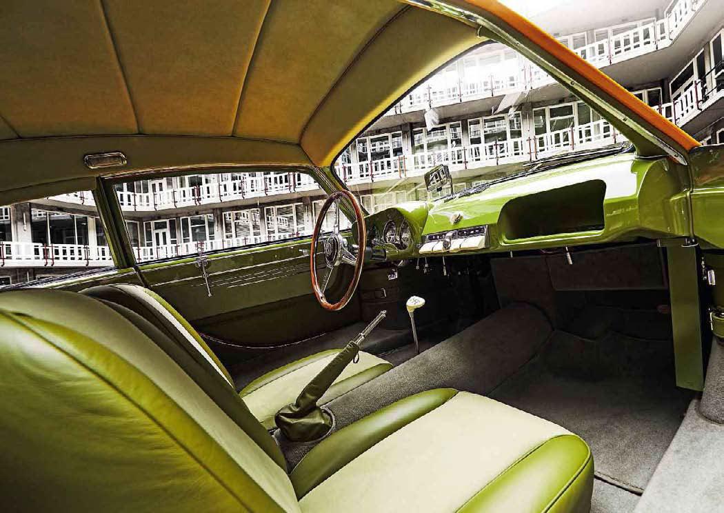 1952 Pegaso Z-102 Berlineta ENASA Cúpula interior