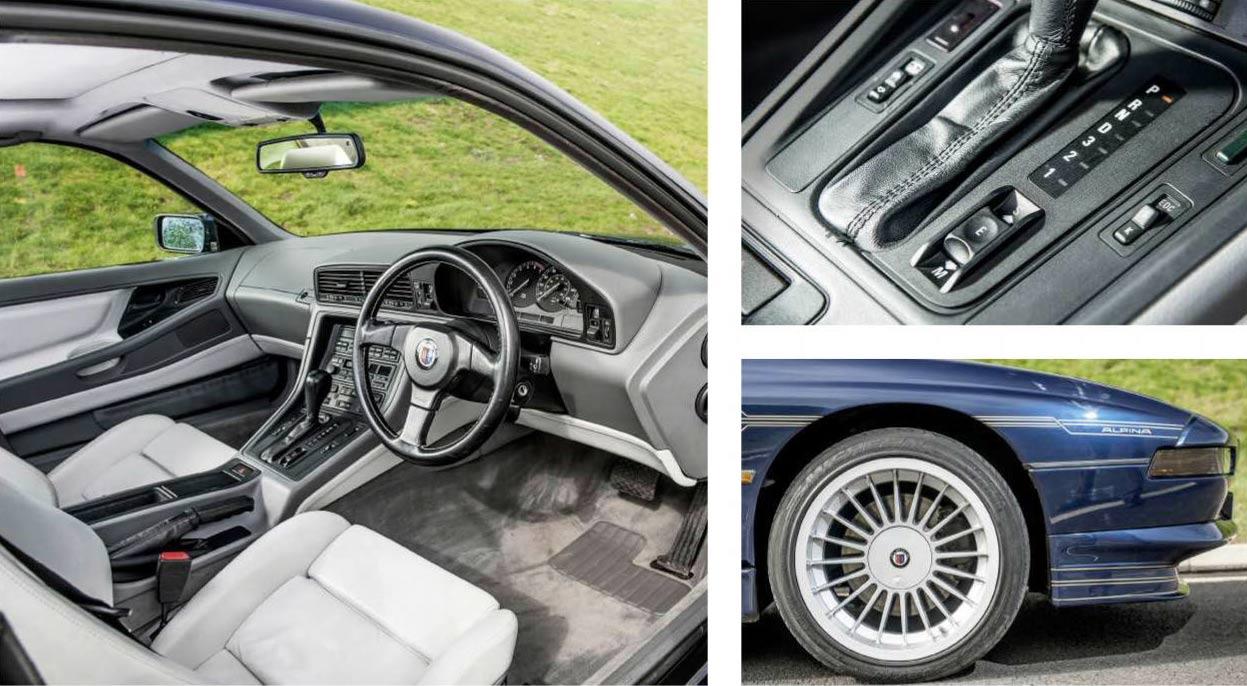 1991 BMW 850Ci Alpina B12 5.0 Coupé E31 8-series road test