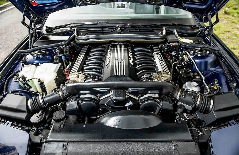 1991 BMW 850Ci Alpina B12 5.0 Coupé E31 8-series engine M70