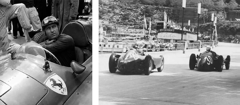 Fangio met Ferrari