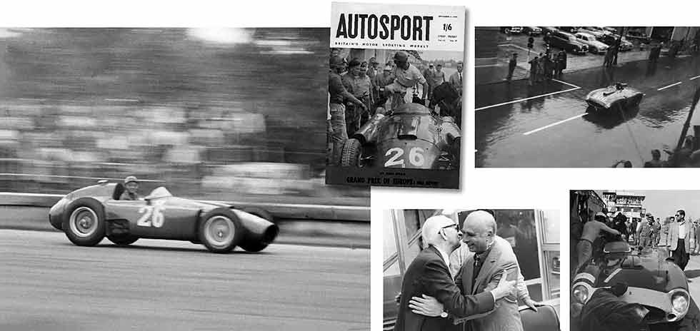 Fangio-met-Ferrari