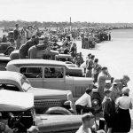 Lake Perkolilli Jubilee Speed Carnival drew large crowds in 1935