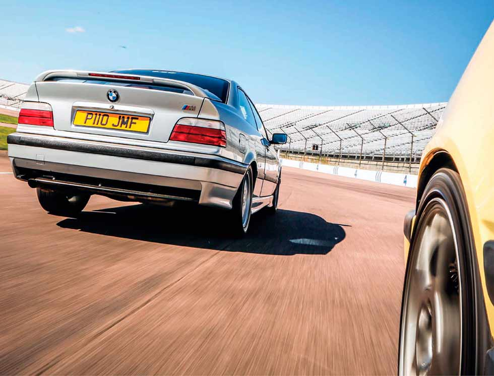 Alfa-Romeo 155 vs. BMW 318iS Coupe E36 and Volvo 850 road test