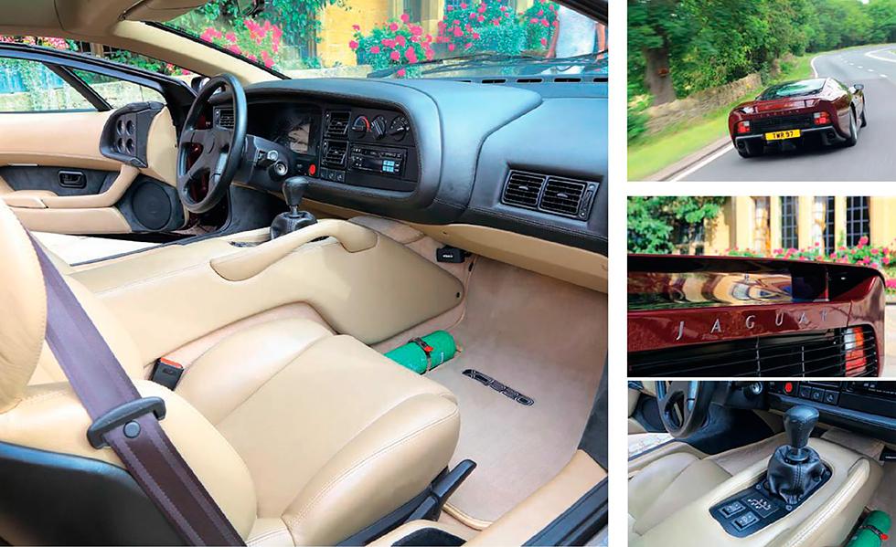 Jaguar XJ220 road test