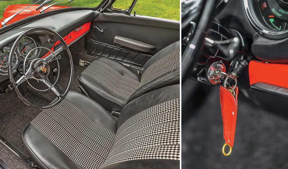 Porsche 901 prototype interior