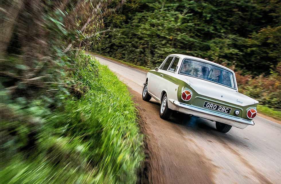1965 Lotus Cortina MkI 50-year dream to drive