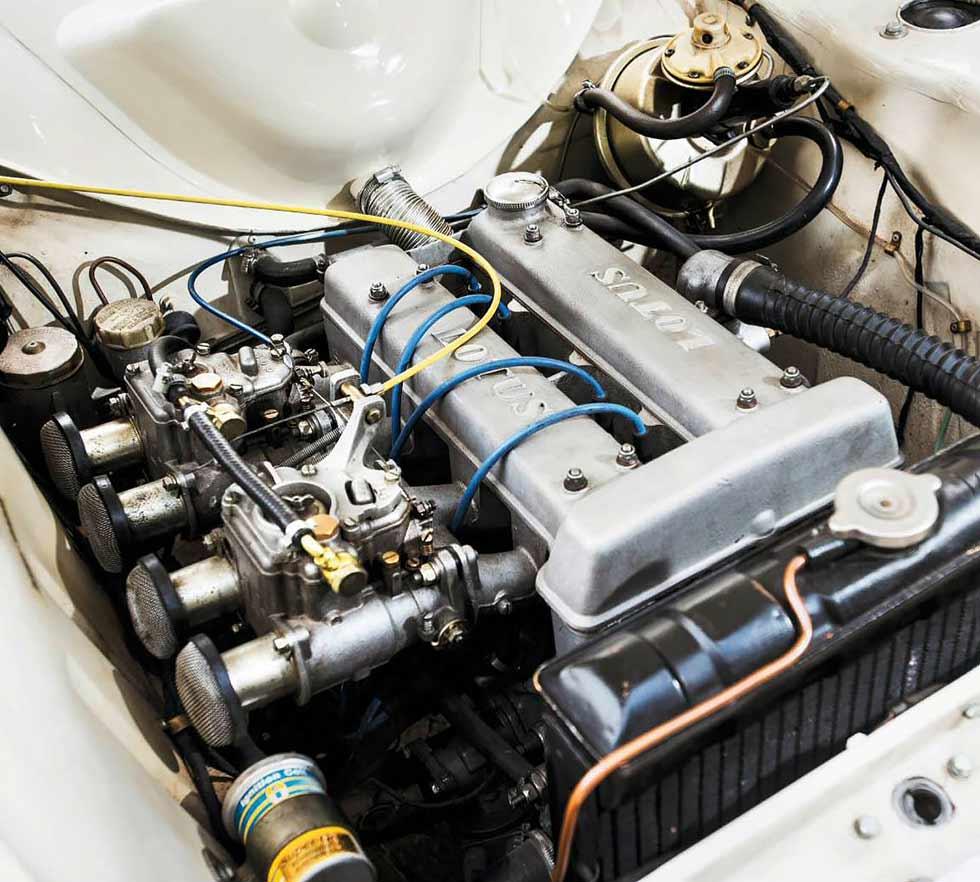 1965 Lotus Cortina MkI engine
