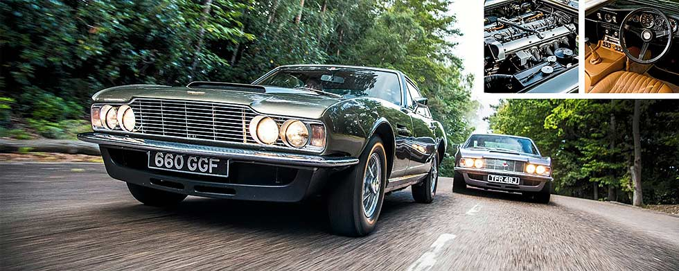 1967 Aston Martin DBS Vantage road test