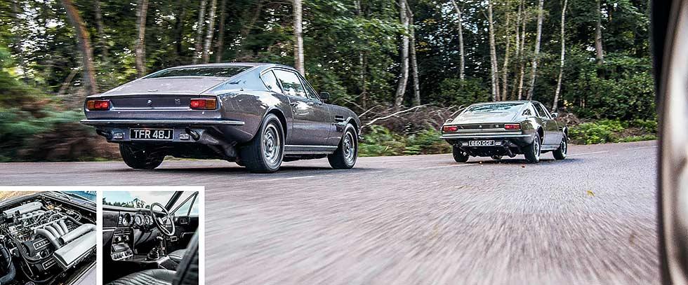 1969 Aston Martin DBS V8 road test