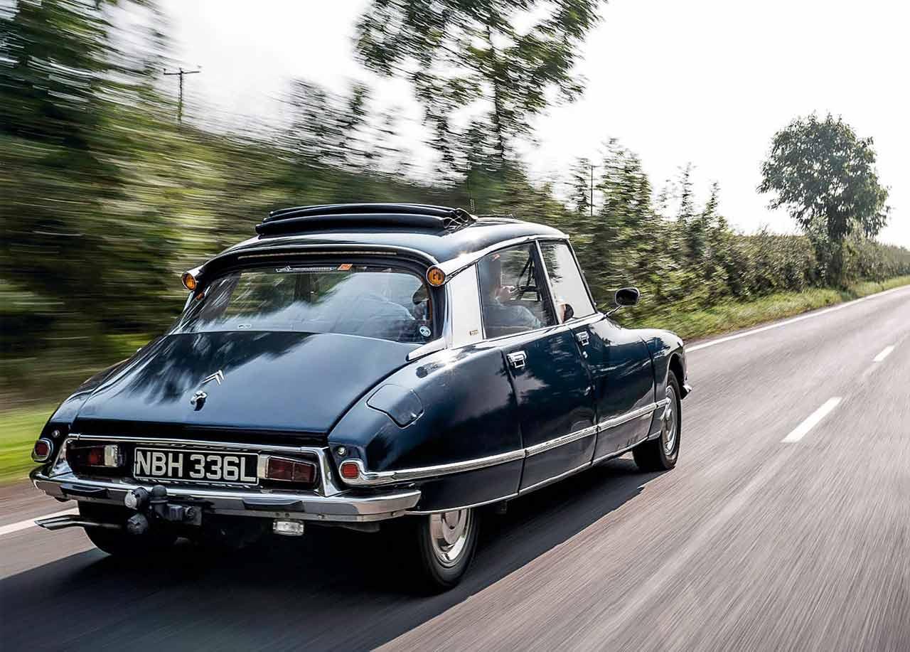 1971 Citroen DS23 Pallas road test