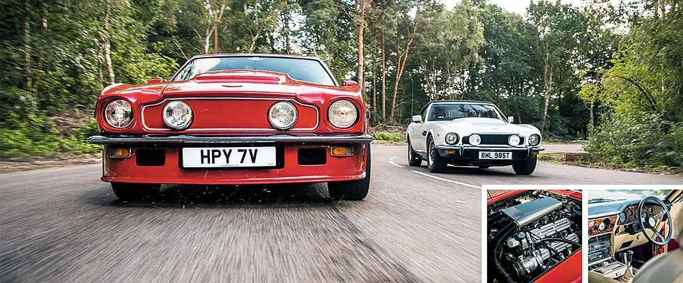 1977 Aston Martin V8 Vantage X-pack specification road test