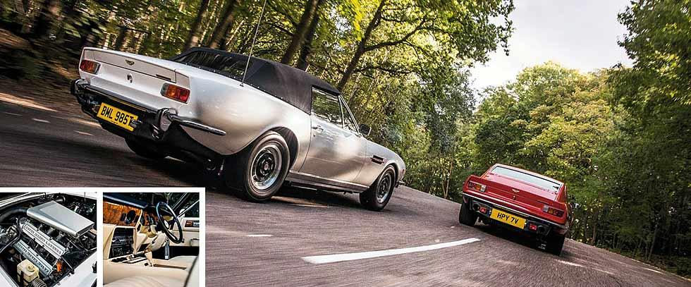 1978 Aston Martin V8 Volante road test
