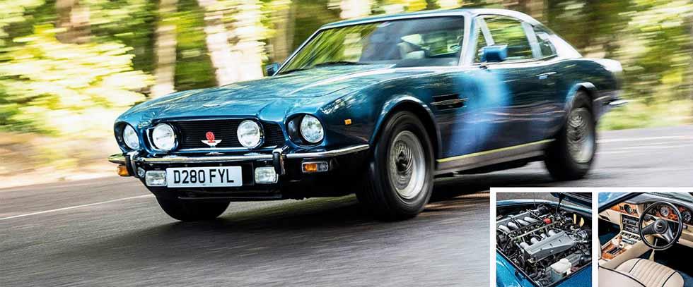 1987 Aston Martin V8 Saloon road test