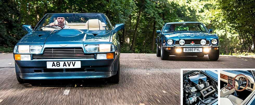 1990 Aston Martin Vantage Zagato Volante road test