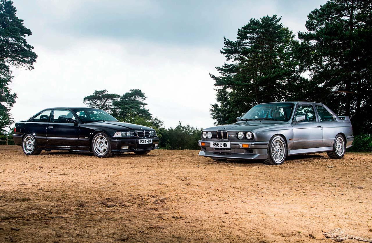 History today BMW M3 Evo II E30 vs. BMW M3 Evo E36