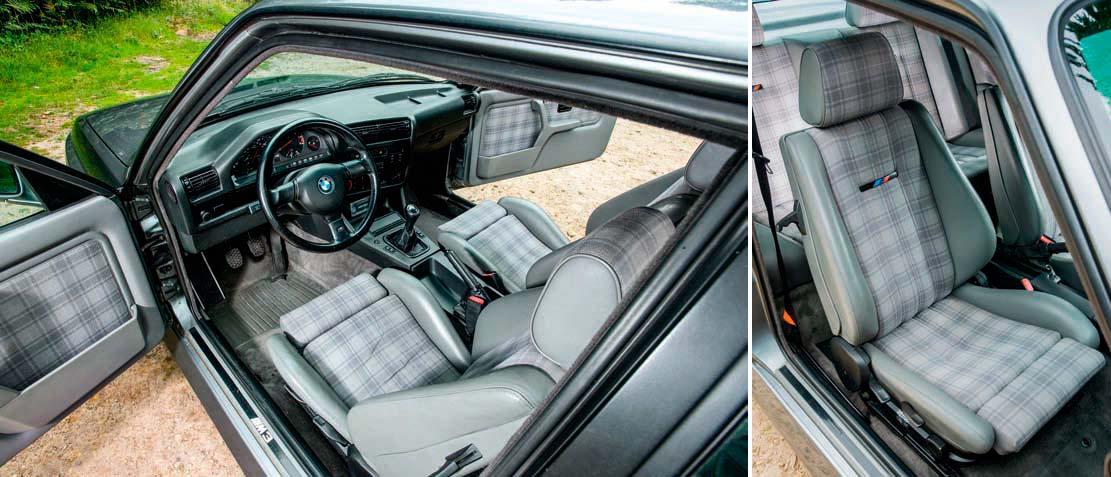 BMW M3 Evo II E30 interior