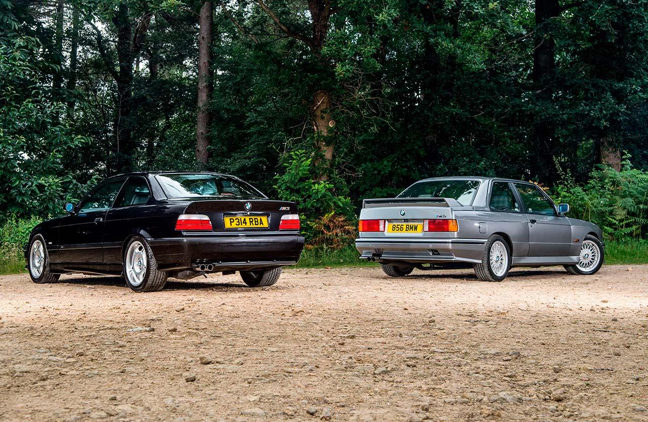 Road test BMW M3 Evo II E30 vs. BMW M3 Evo E36
