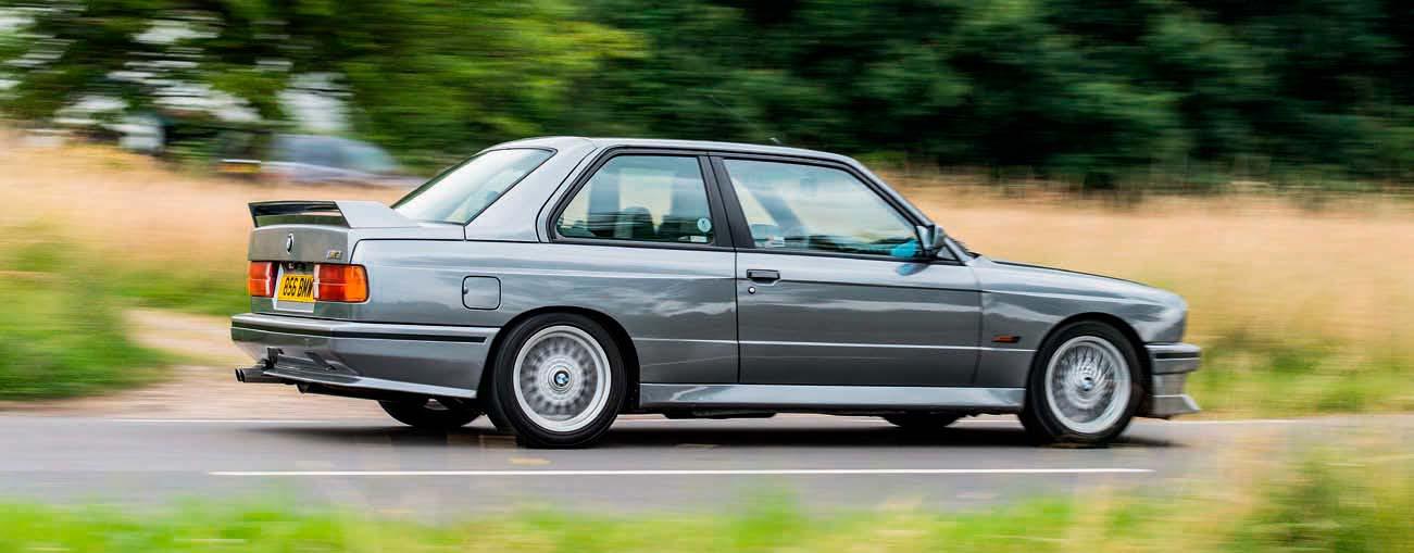 Road test BMW M3 Evo II E30