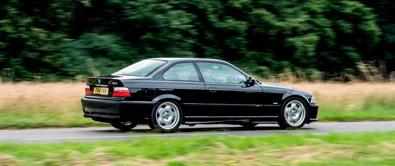 BMW M3 Evo E36 road test