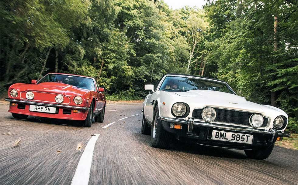 Aston-Martin DBS at 50 road test