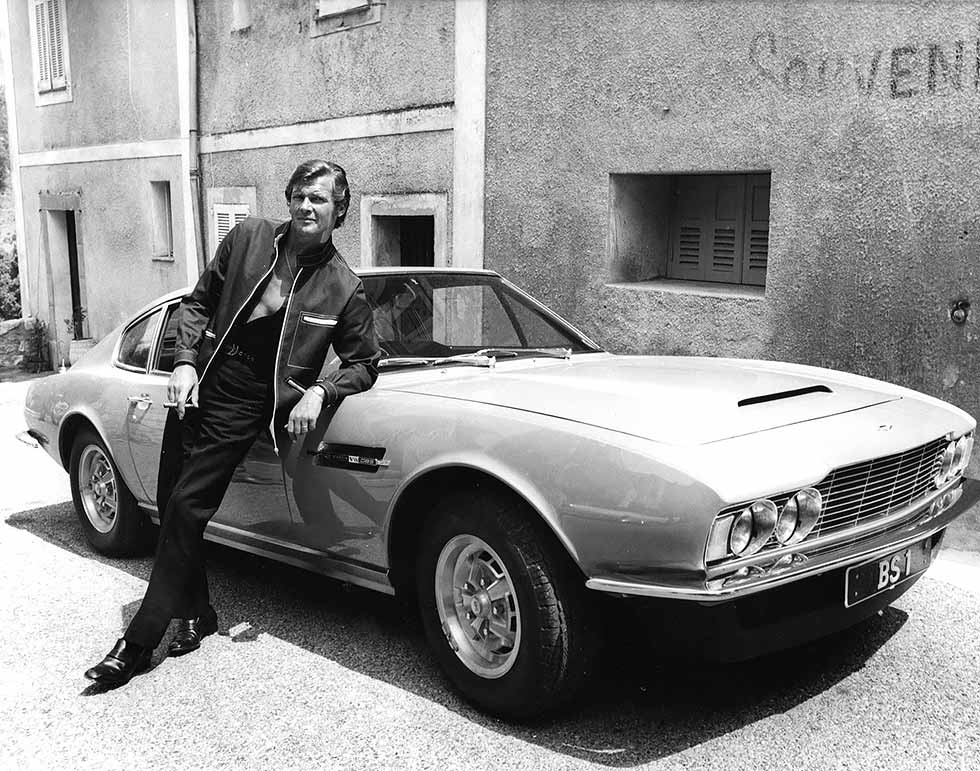 RICK LESTER: Roger Moore's stunt driver double