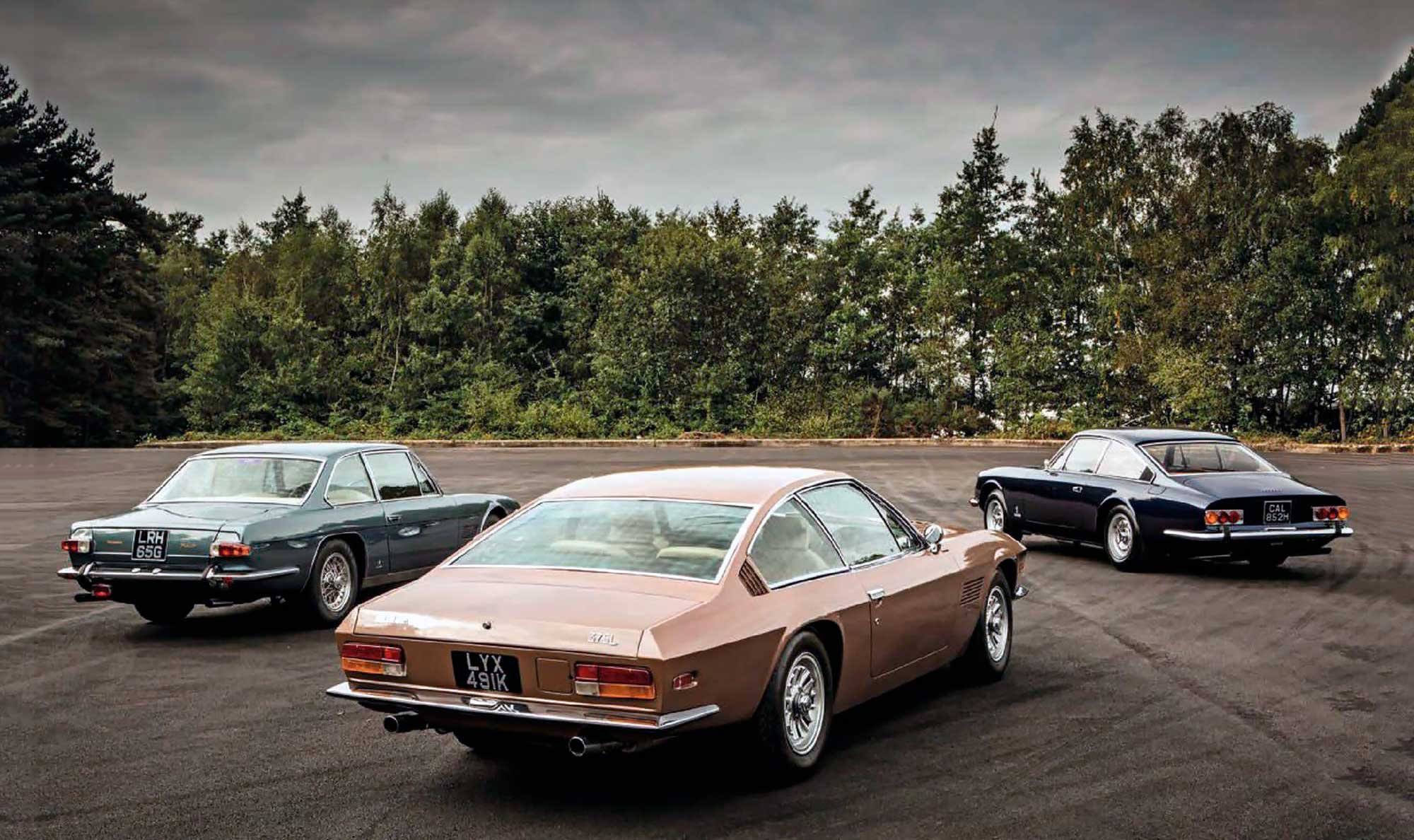 Ferrari 365GT 2+2 vs. Maserati Mexico and Monteverdi 375L road test