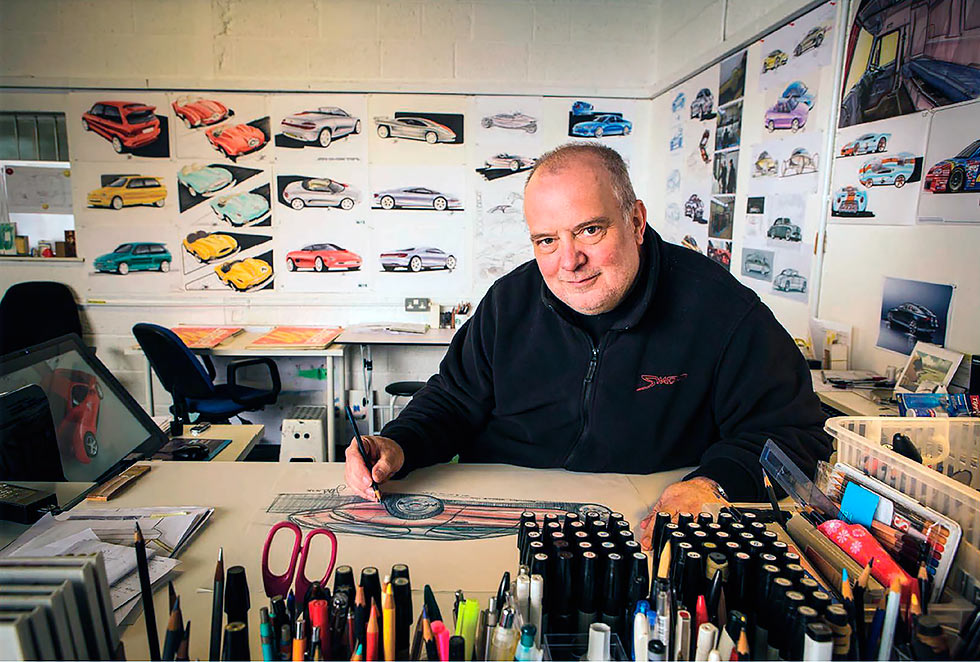 Steve Harper 40 years in automotive styling