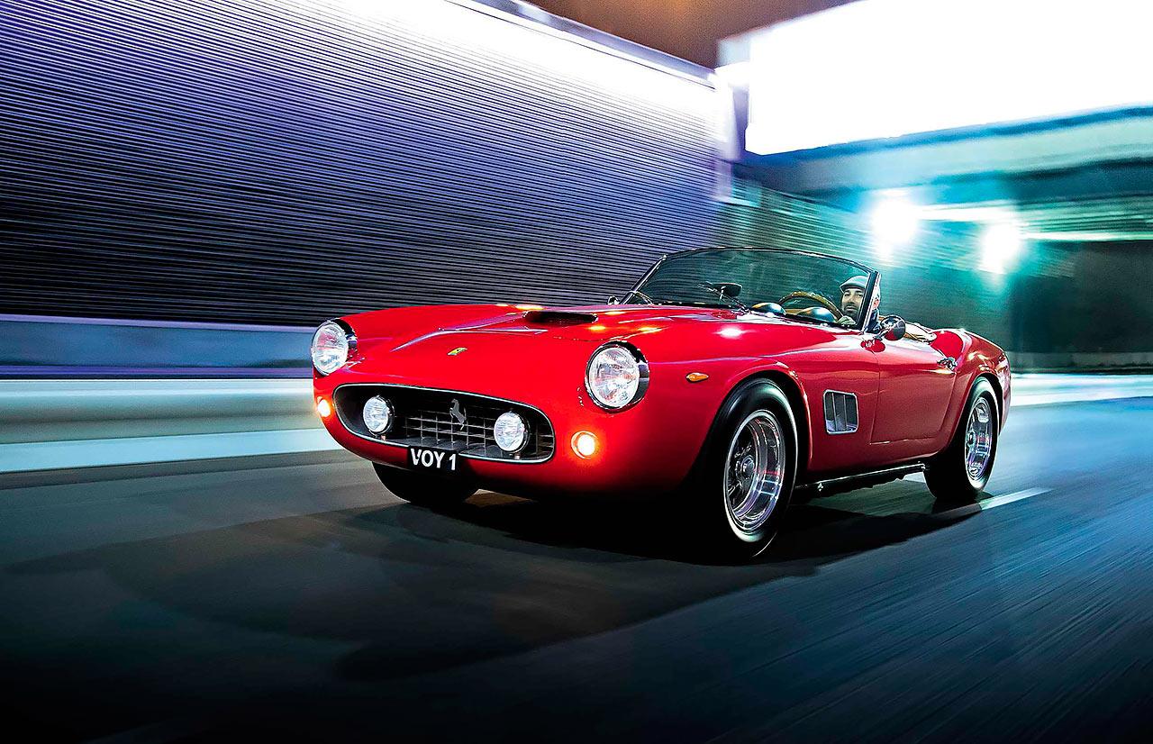 1961 Ferrari 250 GT California Spyder road test