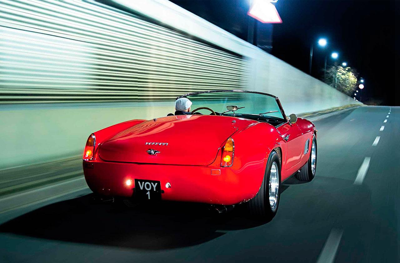 1961 Ferrari 250 GT California Spyder driven