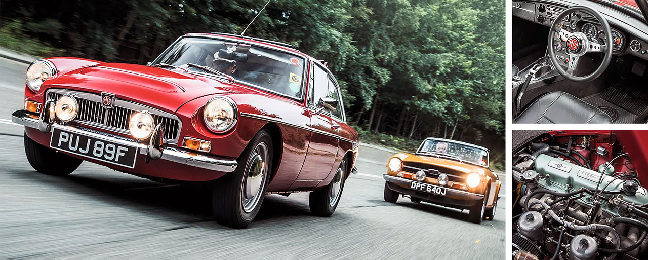 1969 MGC-GT Automatic road test