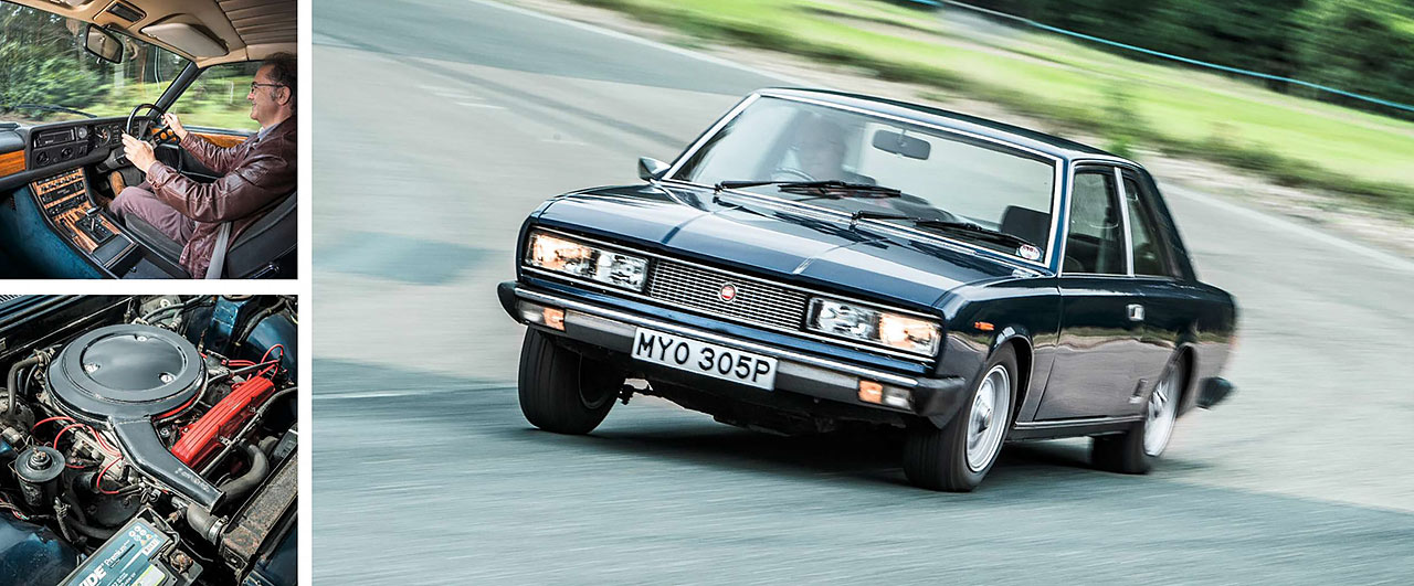 1975 Fiat 130 Coupe road test