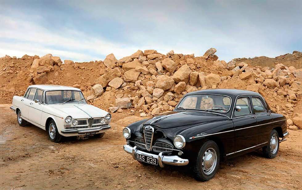 Alfa Romeo 1900 Super vs. Alfa Romeo 2600 Berlina