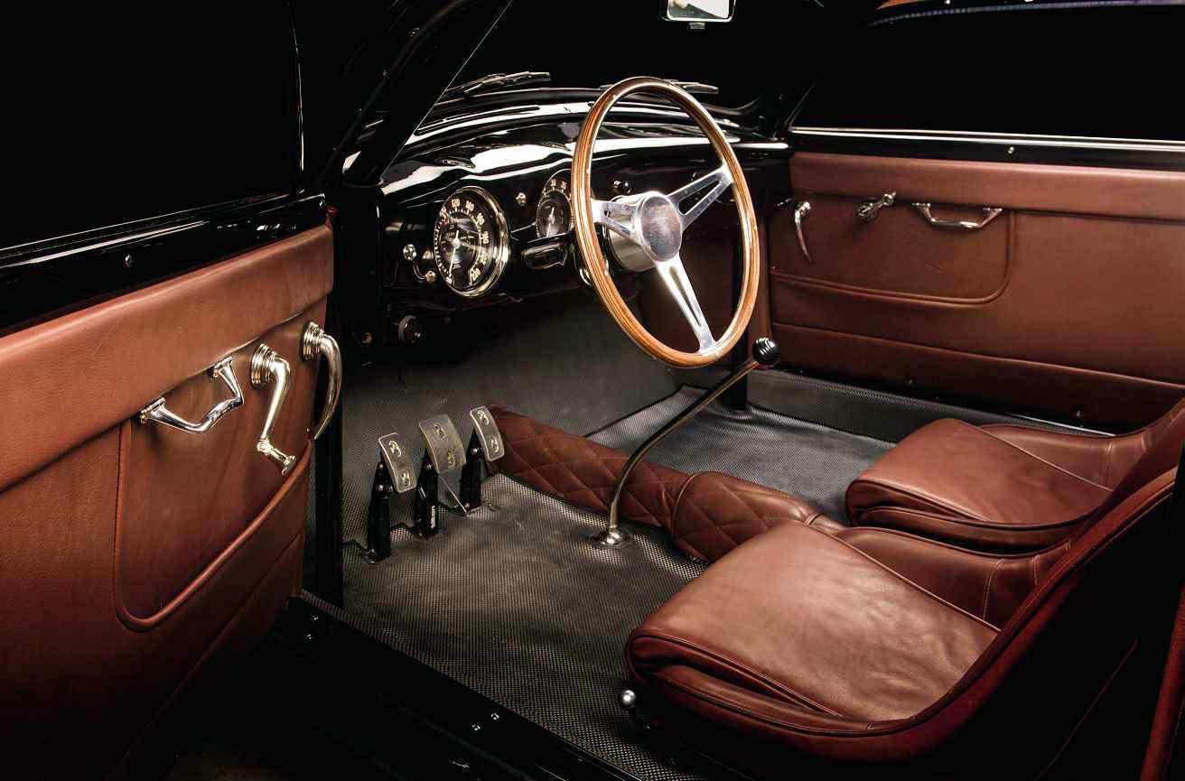 1957 Lancia Aurelia B20 GT Outlaw interior