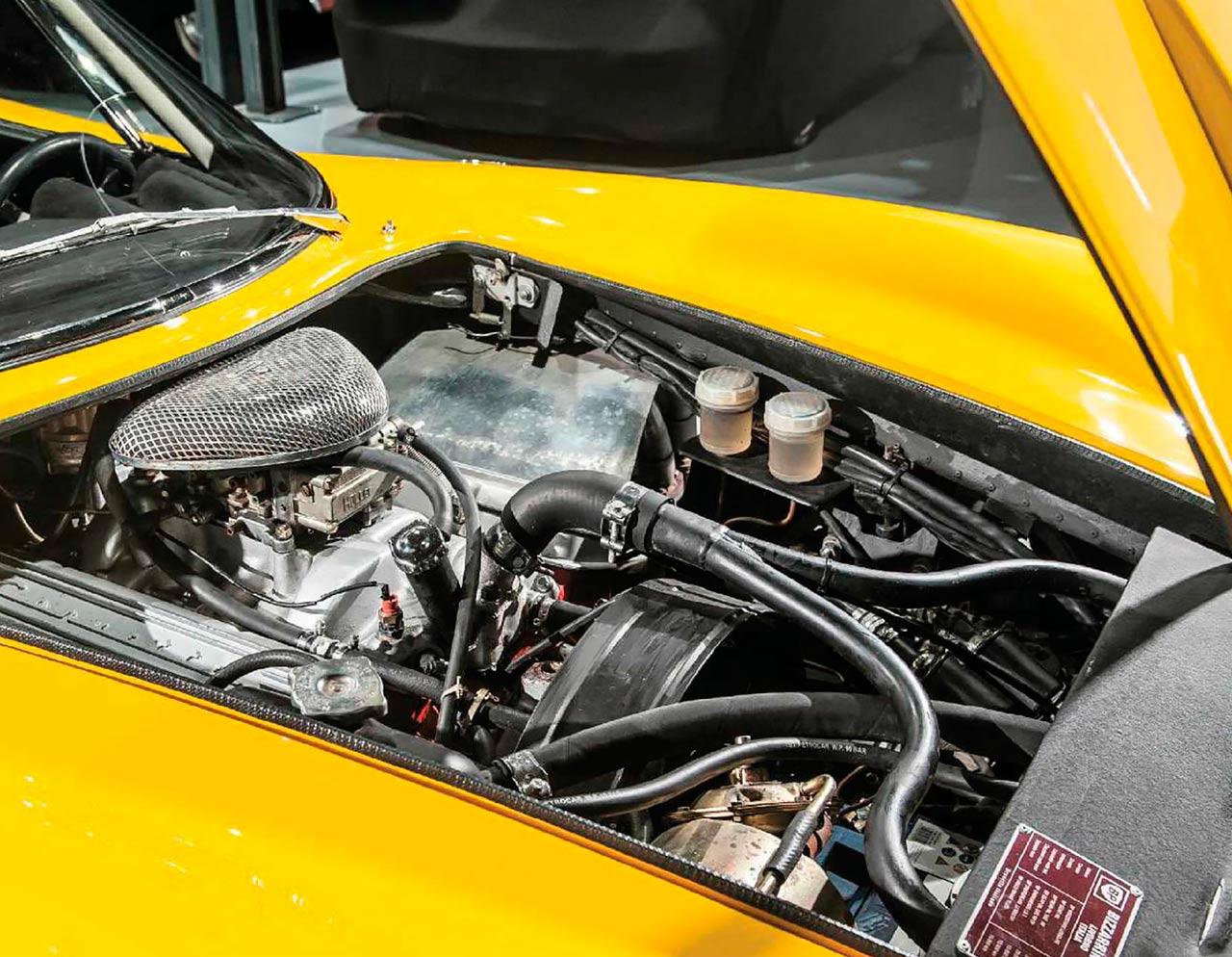 1966 Bizzarrini 5300 GT Strada engine V8