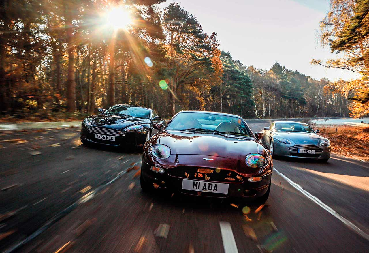Aston Martin DB7, DB9 and V8 Vantage from £20k