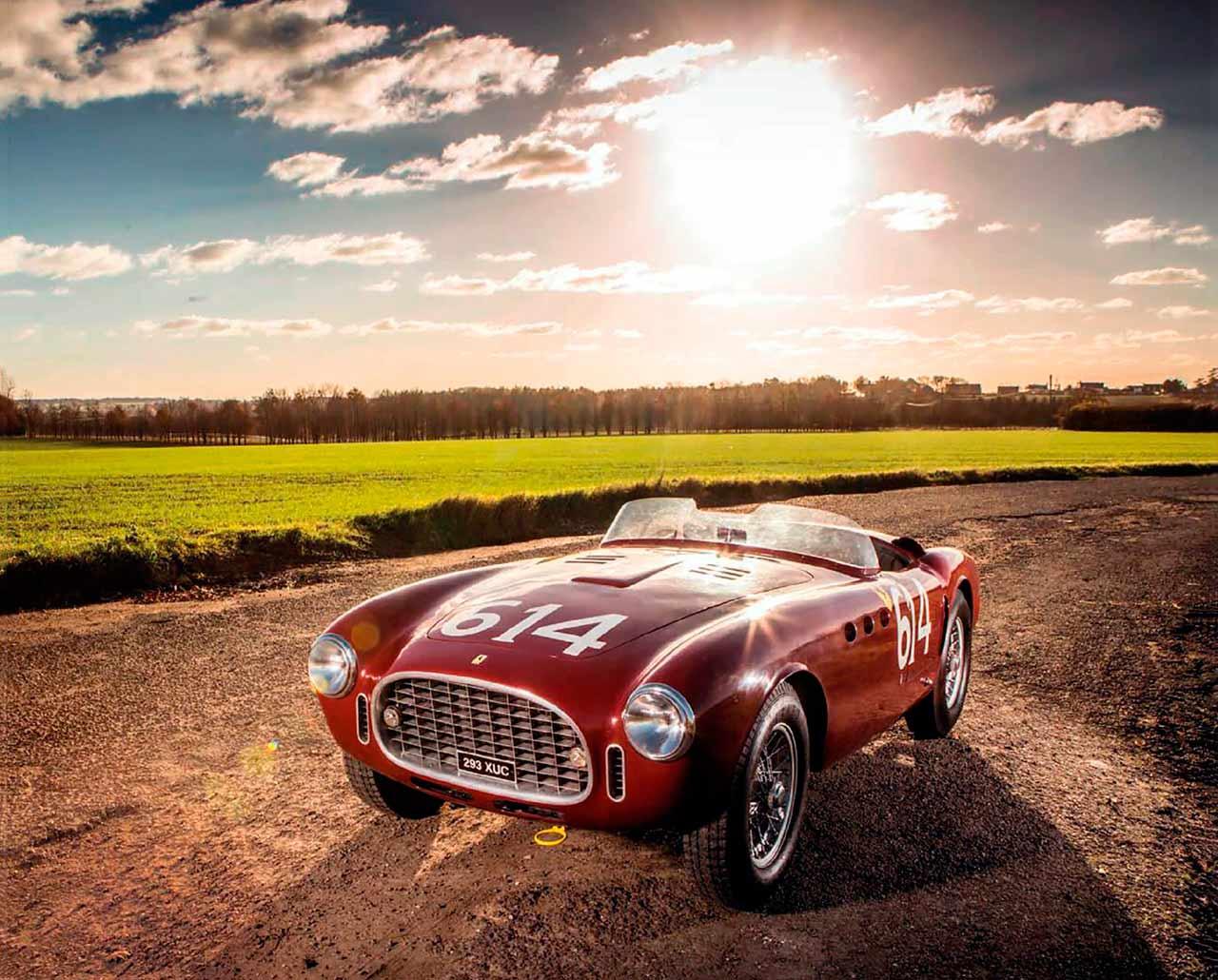 Ferrari 340 America test