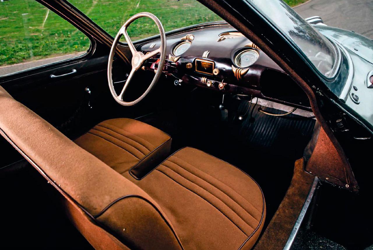 1948 Panhard Dynavia interior / road test