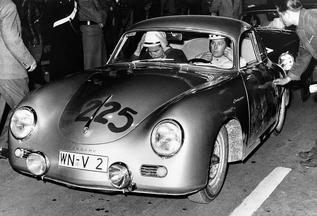 1957 Porsche 356A/1500GS Carrera GT Coupé