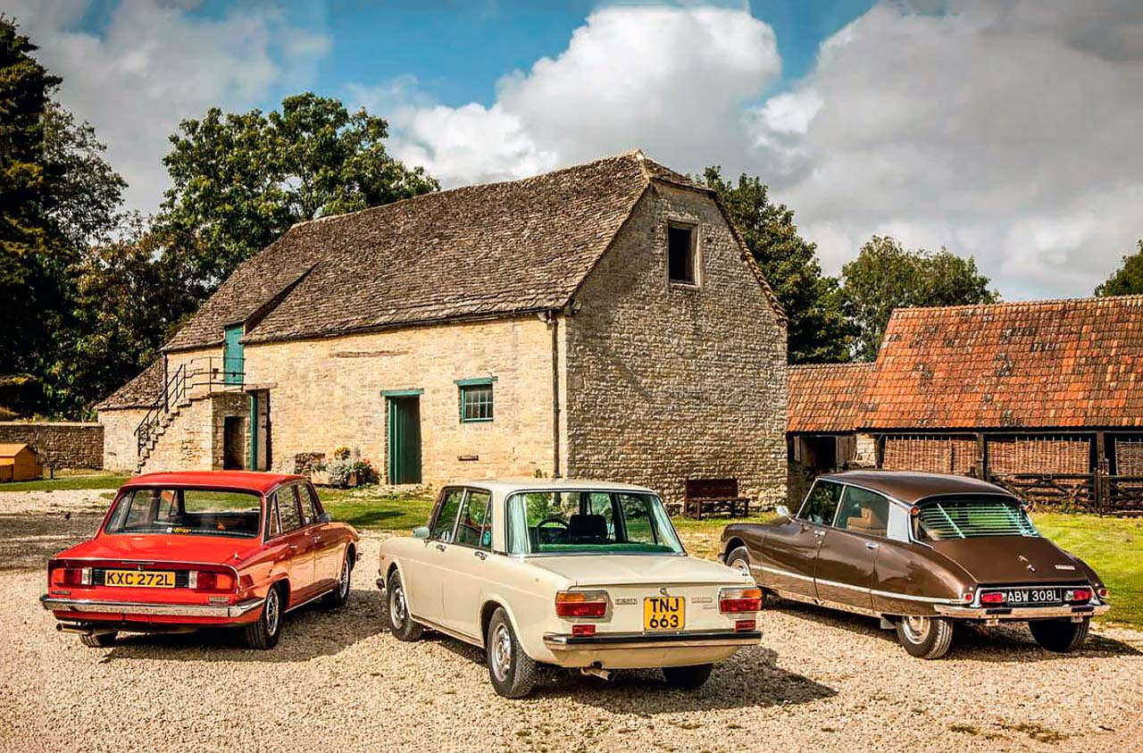 Lancia 2000IE Berlina vs.Citroen DS23 IE Pallas and Triumph PI Mk2 2500 - Fuel For ThoughtFeatured