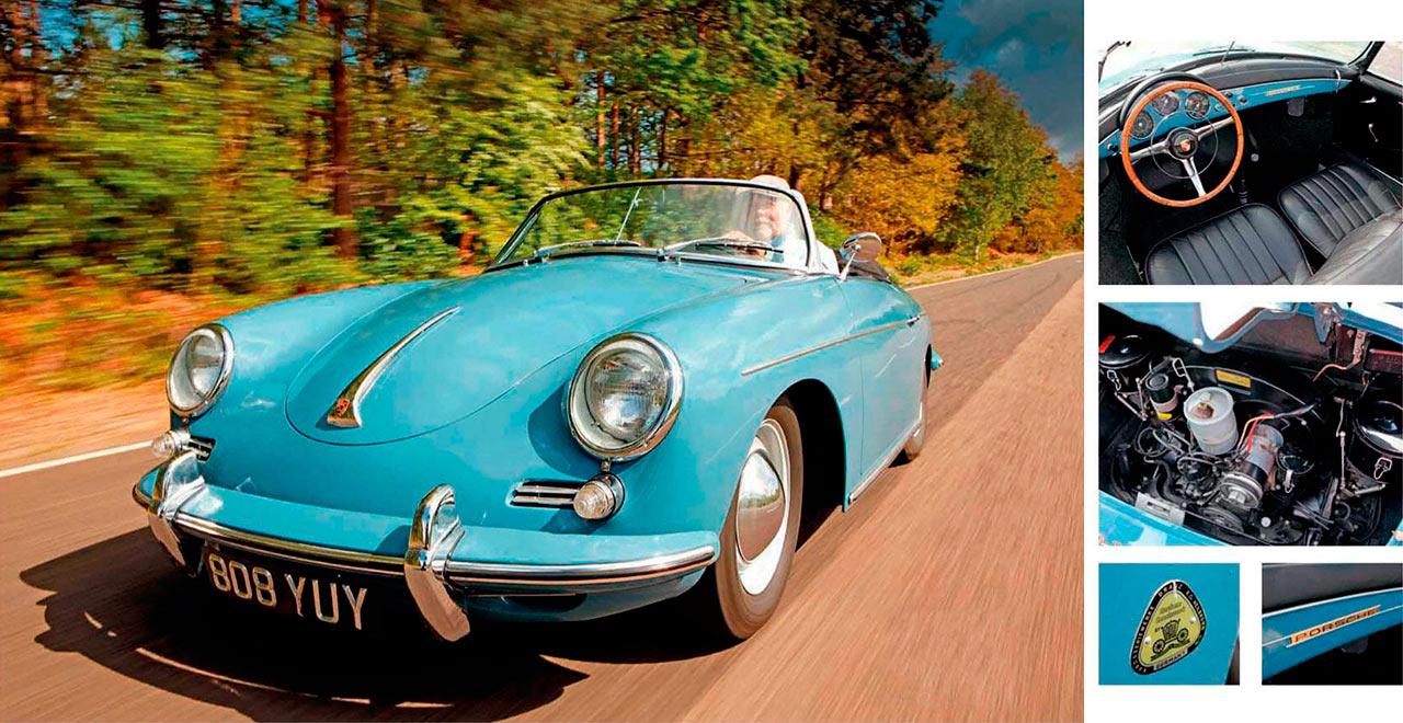 Porsche 356 B road test
