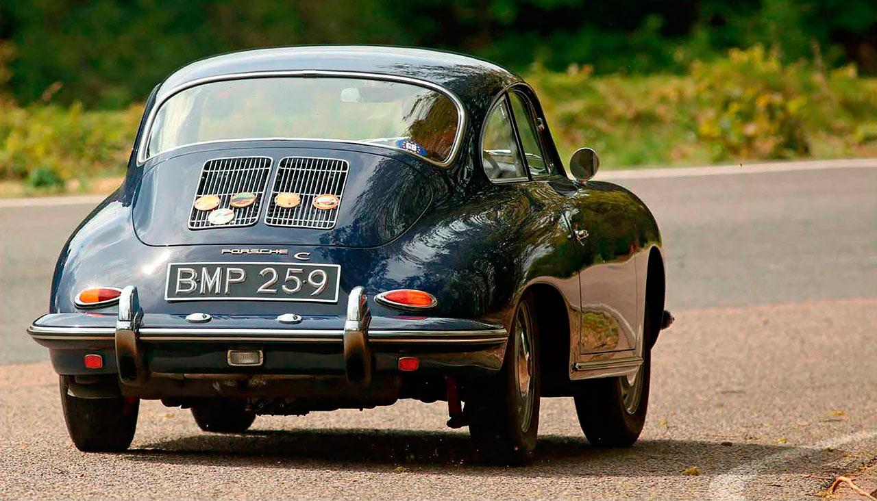Porsche 356 C road test