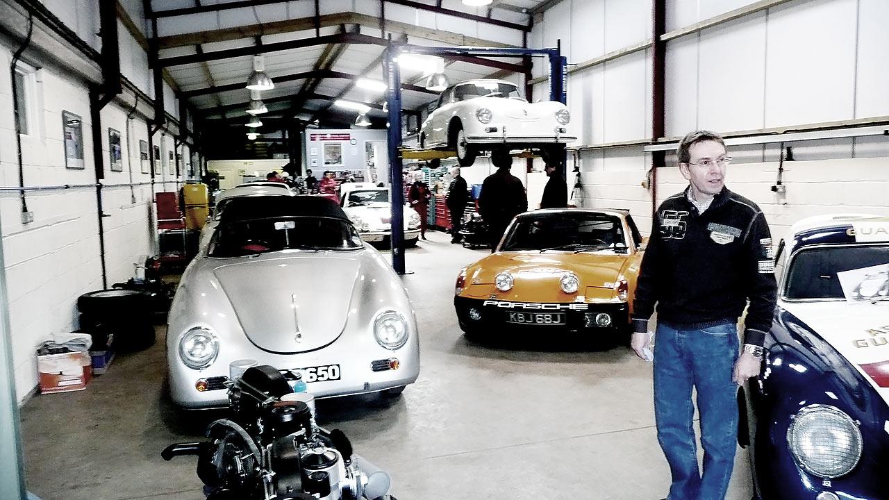 Andy Prill Porsche 356 specialist