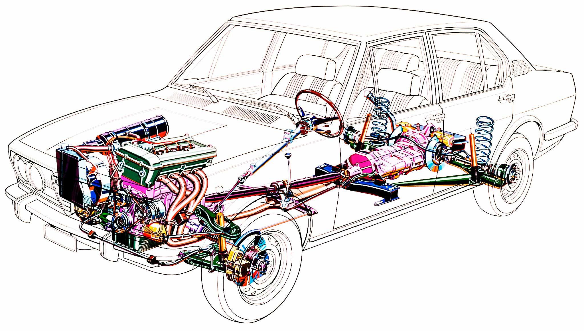 Alfetta 116 cutaway