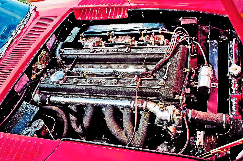 Toyota 2000GT engine