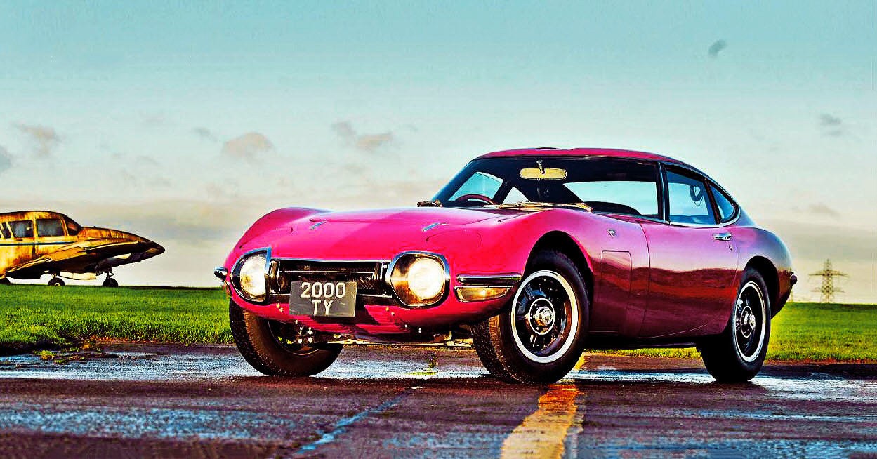 Toyota 2000GT first test-drive