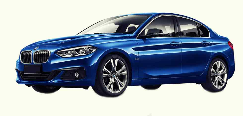 2017 BMW 125i Sedan Sport Line F52 - front-wheel drive 1 Series for China